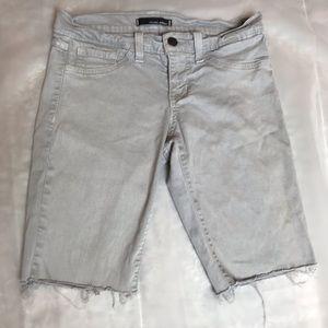 Flying monkey cut off jean shorts